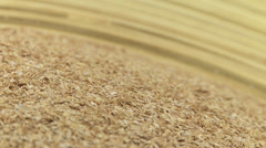 Wheat bran 2 Stock Footage