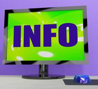 Stock Illustration of tv monitor representing high definition television or hdtv