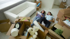 Couple belongings Stock Footage