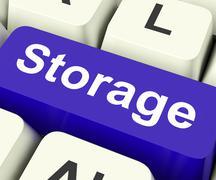 Varastointi Keskeinen keino varastointi yksikkö tai varasto. Piirros