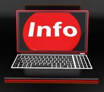 Tietoa kannettavan tarkoittaa apua tietoa tietoa ja apua verkossa Piirros