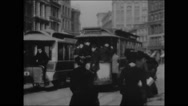 Broadway & Union Square, New York (1901) Stock Footage