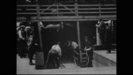 Emigrants landing at Ellis Island (1903) (II) Stock Footage