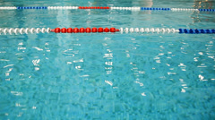 Sport Swimming pool Stock Footage