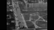 Panorama from Times Building, New York (1905) (II) Stock Footage