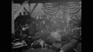 Opening of new East River bridge, New York (III) (1903) Stock Footage