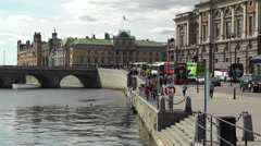 Stockholm Norrmalm 6 Stock Footage