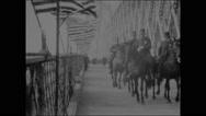 Opening the Williamsburg Bridge (1903) Stock Footage