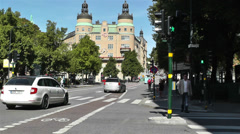 Stockholm Norrmalm 12 Stock Footage
