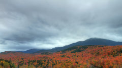 Fall Foliage (HDR Time-lapse) - stock footage