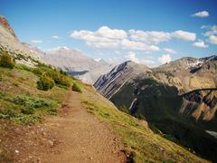 Canadian Mountain Path - stock photo