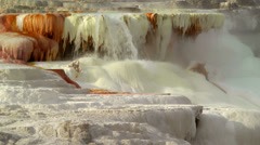Canary Spring, Yellowstone Stock Footage