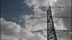 High voltage transport Stock Footage