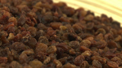 Raisins 2 Stock Footage