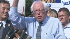 U.S. Senator Sanders, Vermont  Stock Footage