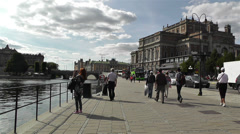 Swedish Opera Stockholm 2 - stock footage