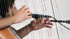 Harp Stock Footage
