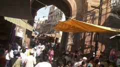 Dargah Sharif or Ajmer Sharif Stock Footage