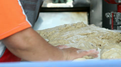 Making bread Stock Footage