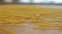 Spaghetti Stock Footage