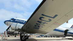 DC3 White Static - stock footage