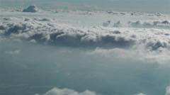 Stratocumulus from Above 2 - stock footage