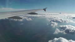 Stratocumulus from Above 3 pov - stock footage