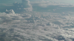 Stratocumulus from Above 4 - stock footage