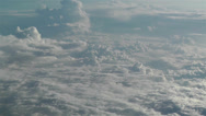 Stock Video Footage of Stratocumulus from Above 4