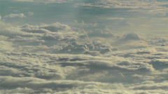 Stratocumulus from Above 6 - stock footage