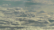 Stock Video Footage of Stratocumulus from Above 6