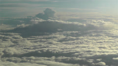 Stratocumulus from Above 7 - stock footage