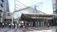 Stock Video Footage of 2013 Tokyo Big Sight wide-angle time lapse
