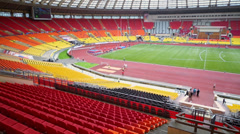 Grand Sports Arena of Luzhniki Olympic Complex Stock Footage