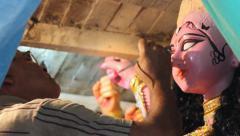 Kolkata Festival Stock Footage