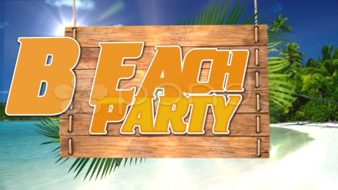 After Effects Project - Pond5 Beach Party Selebration 31206842