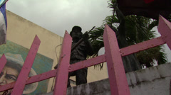 Nicaragua Sandinista Memorial 5 - stock footage