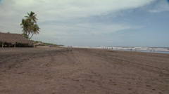 Nicaragua Beach WS - stock footage