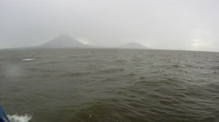 Lake Nicaragua Ferry Ometepe Island 1 Stock Footage