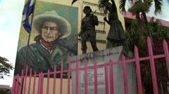 Nicaragua Sandinista Memorial 3 - stock footage