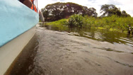 Stock Video Footage of Lake Nicaragua boat water POV 1
