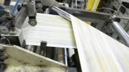 Stock Video Footage of printing house. - stock video
