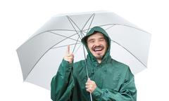 Weather double protection. Stock Photos