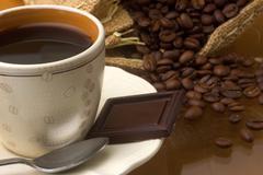 Color coffee Stock Photos