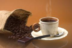 color coffee - stock photo