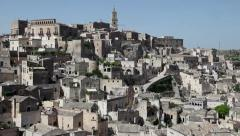 1of2 Italy, Italia, Basilicata, Lucania travel, people and city Stock Footage