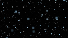 Pixel Particles Heavy Density Stock Footage