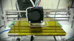 3D printing Failure Stock Footage