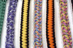 bracelets of survival - stock photo