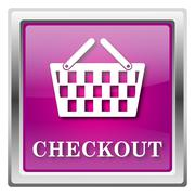 Checkout icon Stock Illustration